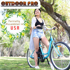 """Assembly In USA 350W 26"""" Electric Bicycle Beach Cruiser Eco"""