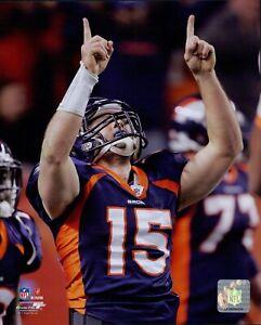 Tim Tebow Denver Broncos NFL Licensed Unsigned Glossy 8x10 Photo E