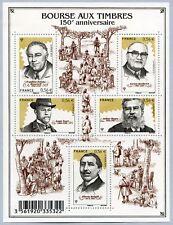 Feuillet F4447 - Bourse aux timbres - 150ème anniversaire - 2010