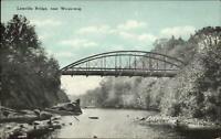 Leesville Bridge Near Wopowog CT c1910 Postcard - Publ in East Hampton