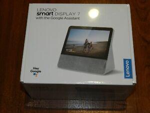 NEW Sealed - Lenovo Smart Display 7 W Google Assistant - ZA5K0012US 194552052577