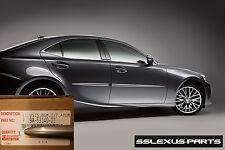 Lexus IS250 IS350 (2014-2016) OEM BODY SIDE MOLDINGS SET (Atomic Silver) (1J7)