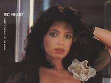 Playboy Centerfold November 1983 Playmate Veronica Gamba CF-ONLY RUF2