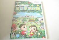Wii Animal's Forest Crossing Let's go to the city RVL-RUUJ-JPN Nintendo Game