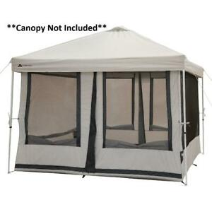 Camping Tent House 7 Person 2 in 1 Screen House Outdoor Tent, with 2 Doors