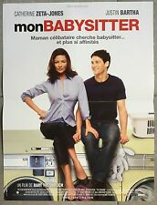 Affiche MON BABYSITTER The rebound CATHERINE ZETA-JONES Justin Bartha 40x60cm *