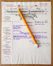 Stockton on Tees North Eastern Breweries Castle Brewery 1940 Durham
