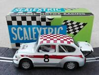 SCX mejorado Fiat / Seat 600 / 1000 Abarth # 8 Scalextric Exin Triang SRC NSR