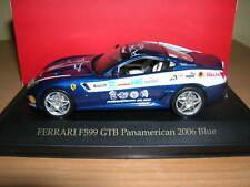 Ixo Ferrari F599 GTB Pan american 2006 Blu 1 blu:43 FER074