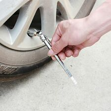 Pressure Gauge Diagnostic-tool Car Tyre Pressure Test  Pen Test  Pen Silver