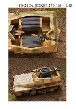 MGM 080-021 1/72 Resin WWII German SDKFZ 250 / 6b - L48