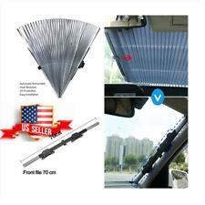 USA Stock ! Folding Car Windshield Visor Curtain Front / Rear Window Sunshade