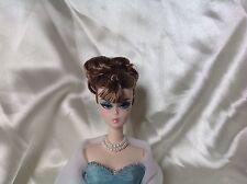 Barbie Schmuck, doppelte Perlenkette weiß #1 für Vintage/ Silkstone/ OOAK