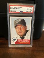 2019 Topps Living Set Roy Halladay Baseball Card #267 PSA 10 Gem Mint