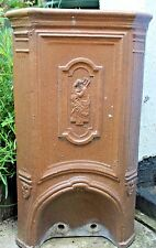 French antique water filter ? Stunning recycled clay glaze baked garden planter