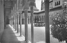 B98070 real photo granada la alhambra patio de les leones spain