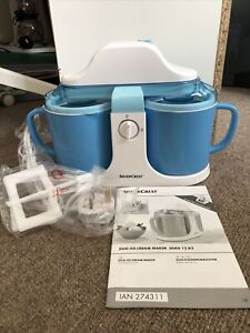 Silvercrest Duo Ice Cream Maker - No Box But Unused