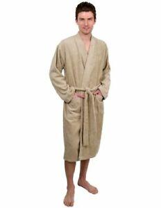 TowelSelections Men        s Robe  Turkish Cotton Terry Kimono Bath Small-Medium