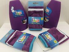 2 Razz Tear Free Rinse Cups 9 Bath Wash Cloths By Paris Presents Inc.