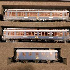 HOBBYTRAIN 44022 set Simplon Orient Express 2 carrozze letti+bagagliaio ep. II