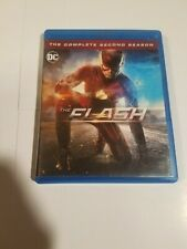 The Flash: The Complete Second Season (Blu-ray, 2016, 4-Disc Set) ☆ MINT DISCS ☆