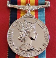 THE AUSTRALIAN VIETNAM SERVICE MEDAL ARMY NAVY AIR FORCE REPLICA WITH RIBBON WAR
