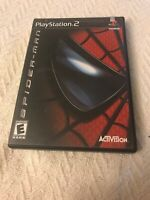 Spider-Man (Sony PlayStation 2, 2002) No Booklet