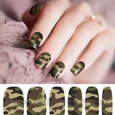 New! Nail Polish Strips Nail Art Stickers Self Adhesive Military Diy!