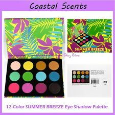 NEW Coastal Scents 12-Color SUMMER BREEZE Eye Shadow Palette FREE SHIPPING BNIB