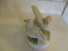 2 Turtle Dove'S Music Box-Plays Lara'S Theme-Made In Japan