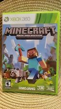 Minecraft Xbox 360 Edition (Microsoft Xbox 360, 2013) - FREE CANADIAN SHIPPING!!