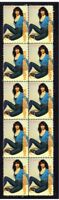 KATE BUSH STRIP OF 10 MINT UK MUSIC VIGNETTE VIGNETTE STAMPS 3