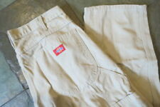 Dickies Cotton Canvas Relaxed Fit Casual / Work Trousers W34 L30
