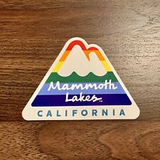 New listing Mammoth Mountain Skateboard Snowboard Sticker Ski Rainbow Pride California Decal