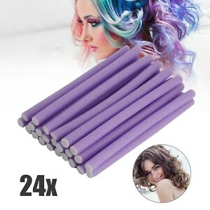 24 x Bendy Roller Foam Bendy Roll Large Bendy Hairdressing Hair Curler Roller