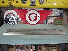 1957 Mercury 2 Door Hardtop Door Flippers L & R ( restored )