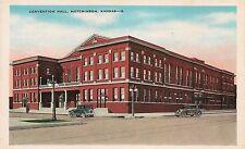 Convention Hall in Hutchinson KS Postcard