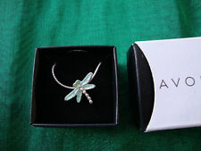 Avon CRITTERS Pendant NECKLACE Dragonfly New in Box FREE SHIPPING!