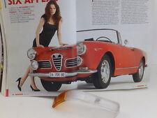 ALFA ROMEO 2600 SPIDER DEL 64 TRASPARENTE FANALE ANTERIORE DX ORIGINALE CARELLO