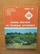 L'EXPERT AUTOMOBILE MANUEL PRATIQUE DE TECHNIQUE AUTOMOBILE Citroën GS-