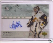 RYAN MILLER 2007/8 UD ICE GLACIAL GRAPHS AUTOGRAPH