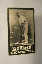 1901 -Vintage -Ogden's -Series A -TAB Cricket Card - A. Ward - Lancashire.