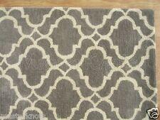 Brand New Riyana Scroll Gray 10x14 14x10 Handmade Wool Area Rug Carpet