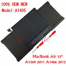 "OEM New Battery A1405 020-7379-A For Apple MacBook Air 13"" A1369 A1466 2011~2012"