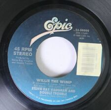 Blues Rock 45 Stevie Ray Vaughn And Double Trouble - Willie The Wimp / Superstit