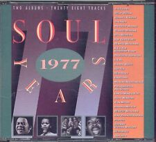 Soul Years 1977 - JACKSONS TAVARES BILL WITHERS - BOX 2 CD 1989 NEAR MINT