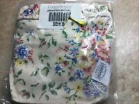 Longaberger Large Easter Custom Spring Floral Basket Liner~
