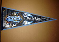 2003 World Series Yankees vs Marlins Baseball MLB Pennant