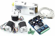 CNC 3 Axis Driver & Nema23 Stepper Motor 285oz-in & PSU kit For Mill Route