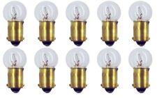 10x 57 High Voltage 24v Light Bulb Gauge Cluster Instrument Panel BA9S GE Lot